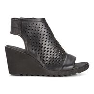 FREJA Wedge Hooded SandalFREJA Wedge Hooded Sandal in BLACK (02001)