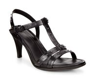 SHAPE 65 SLEEK T-strap Sandal (BLACK)
