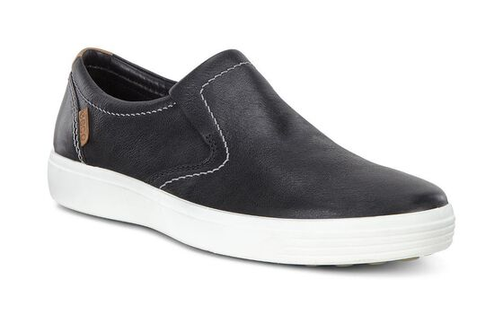SOFT7 Mens Slip On (BLACK)