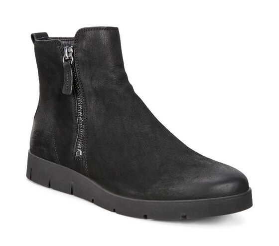 BELLA Side Zip Boot (MOON)