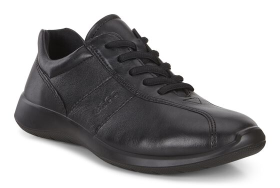 SOFT5 Ladies Sneaker Tie (BLACK)
