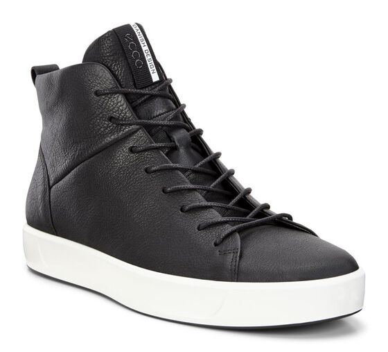 SOFT8 Mens High TopSOFT8 Mens High Top BLACK (01001)