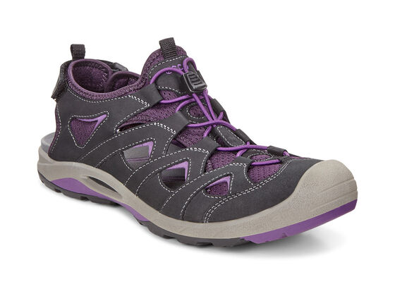 BIOM DELTA Ladies Sandal (BLACK/IMPERIAL PURPLE)
