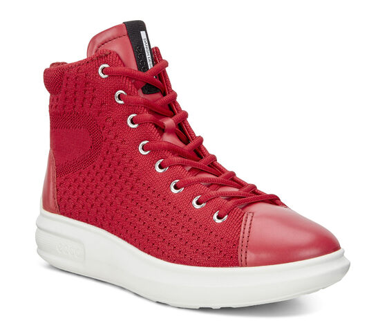 SOFT3 Ladies High Top (CHILI RED/CHILI RED)