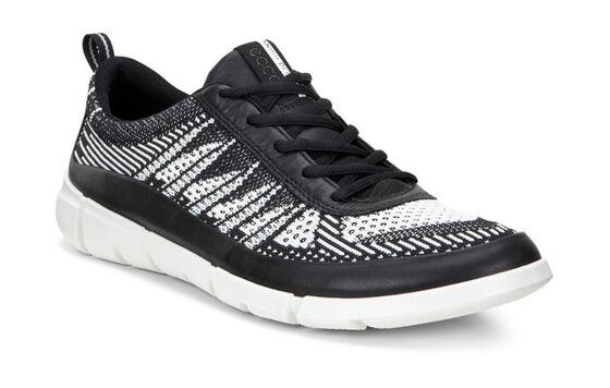 INTRINSIC1 Mens Sneaker Knit (BLACK/WHITE)