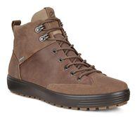ECCO SOFT7 TRED Mens High Cut Sneaker GTX Lace (COCOA BROWN/COCOA BROWN)