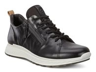 ECCO ST1 Mens Mid Cut Athleisure Sneaker Lace with ZipECCO ST1 Mens Mid Cut Athleisure Sneaker Lace with Zip BLACK (01001)