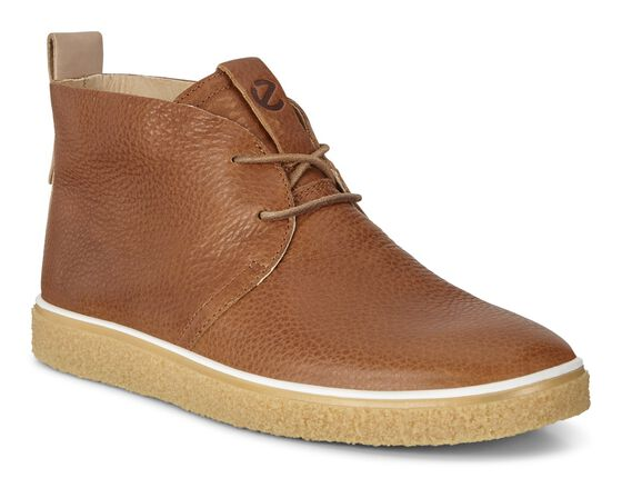 CREPETRAY Mens Desert Boots (LION/POWDER)