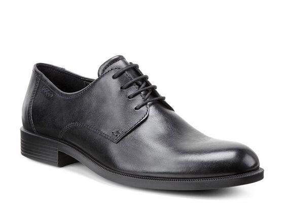 HAROLD Plain Toe Tie (BLACK)