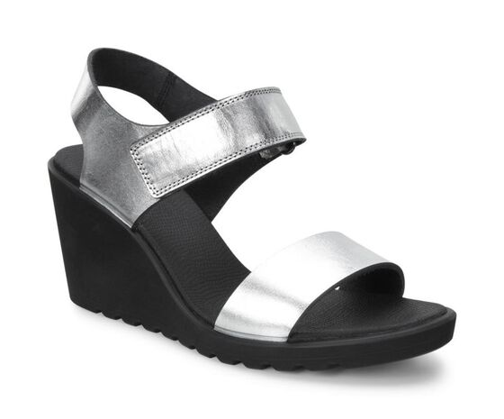 FREJA Wedge Sandal (SILVER METALLIC)