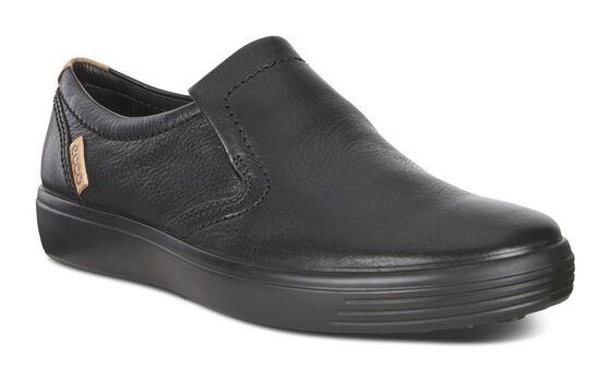 SOFT7 Mens Slip On (BLACK)