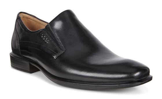 CAIRO Plain Toe Slip On (BLACK)
