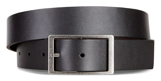 HESA Reversible Belt Smooth Leather (BLACK/COCOA BROWN)