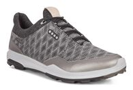 ECCO BIOM HYBRID3 Mens Golf GTX (BLACK/BUFFED SILVER)