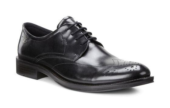 HENLEY Wing Tip Tie (BLACK)