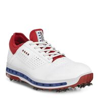 ECCO GOLF COOL 18 Mens GTX (WHITE/TOMATO)