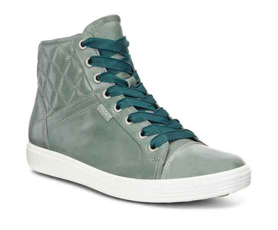 SOFT7 Ladies Quilted High Top (FROSTY GREEN/FROSTY GREEN)