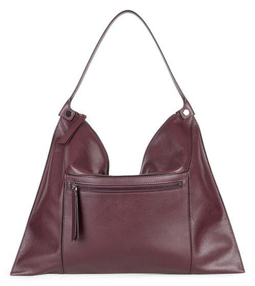 SCULPTURED Shoulder Bag2 (RUBY WINE)