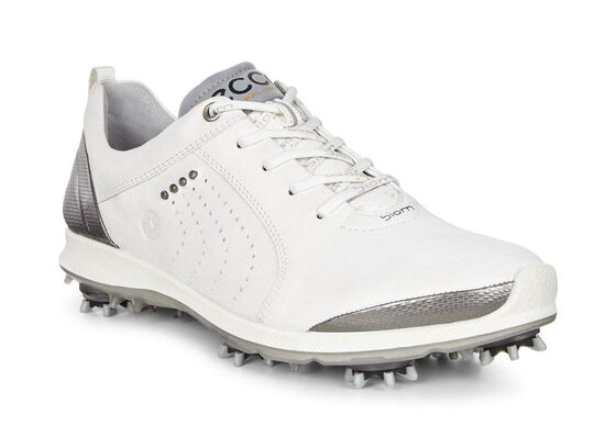 BIOM G2 Free Ladies Golf Softspike (WHITE/BUFFED SILVER)