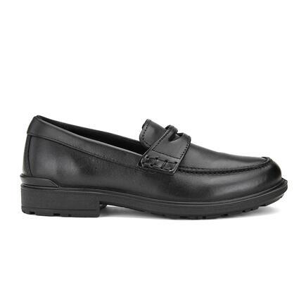 ECCO COHEN Kids School Loafer (size:27~35)