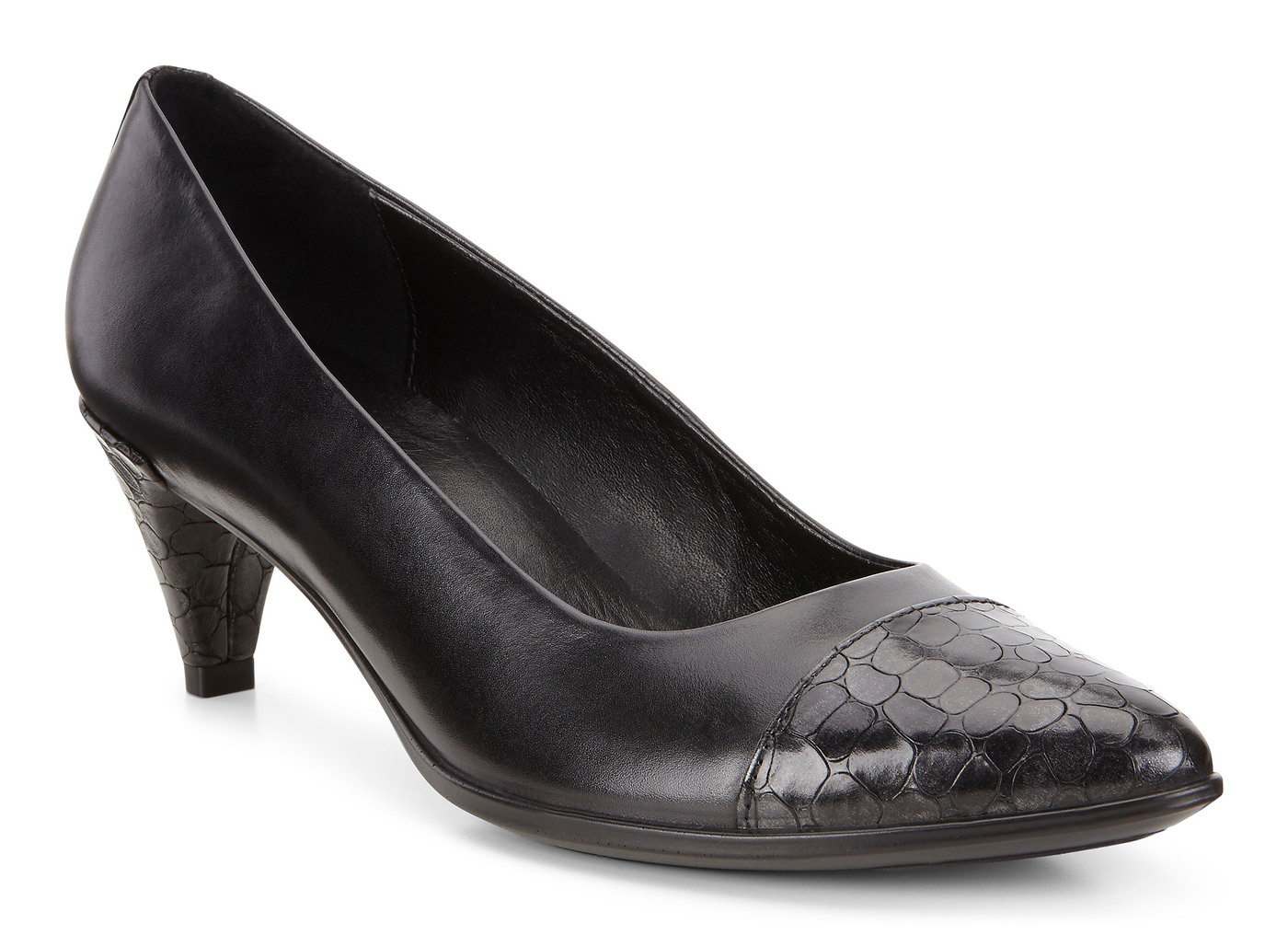 ECCO SHAPE POINTY SLEEK Modern Pump 45mm