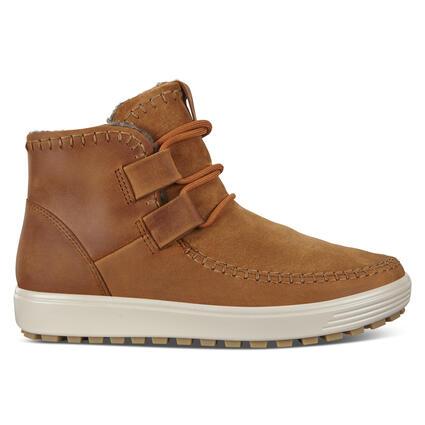 ECCO SOFT7 TRED Womens Sneaker High Cut Wool Lining