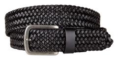 ECCO ALBIN Leather Mesh Belt
