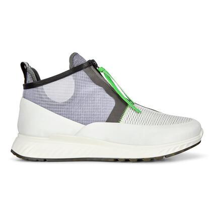 ECCO ST.1 Mens Mid Cut Sneaker Transparent-covered