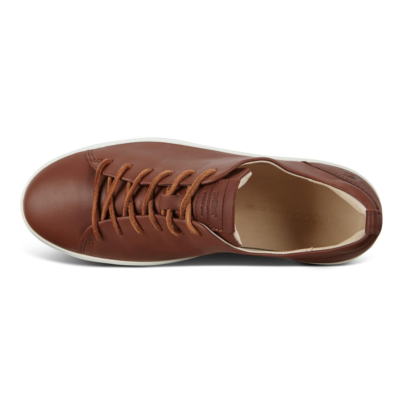 ECCO SOFT8 Womens DriTan Low Cut Sneaker Tie