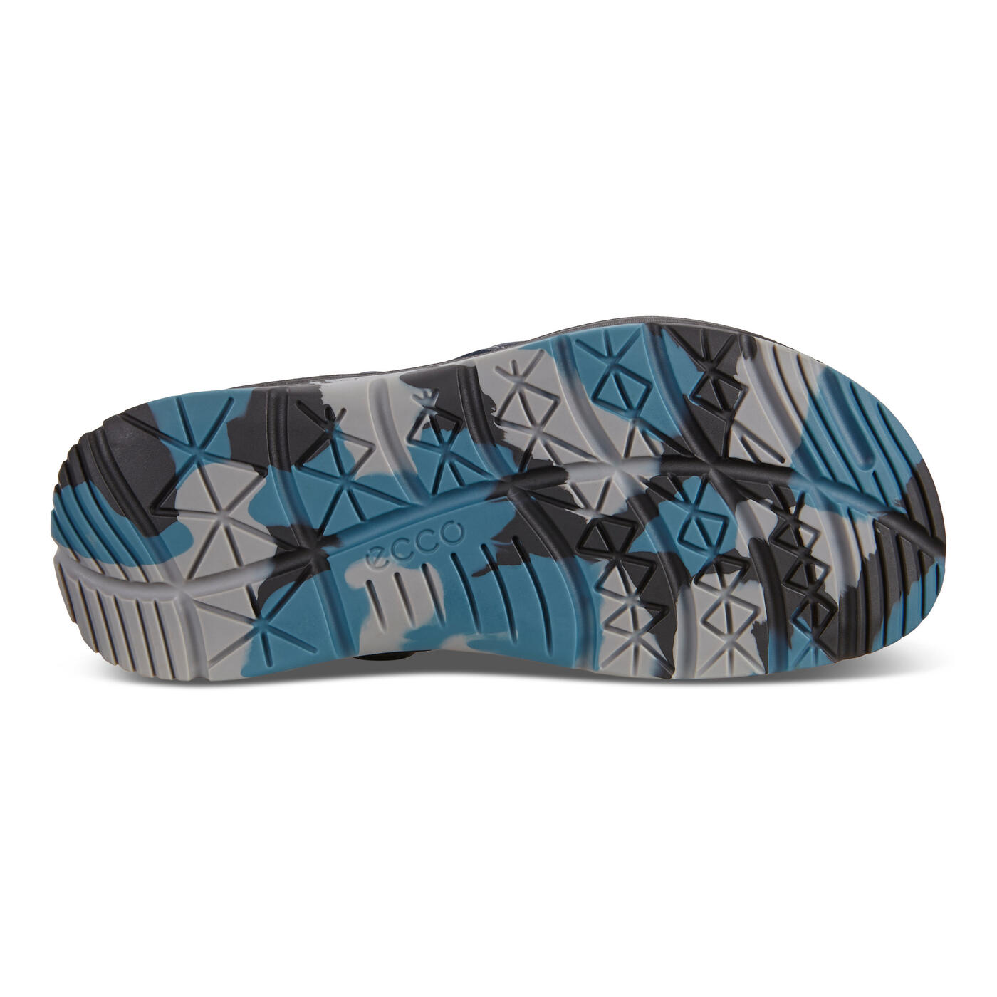 ECCO X-TRINSIC Mens Flat Sandal Leather Strap