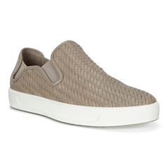 ECCO SOFT8 Mens Woven Slip-On