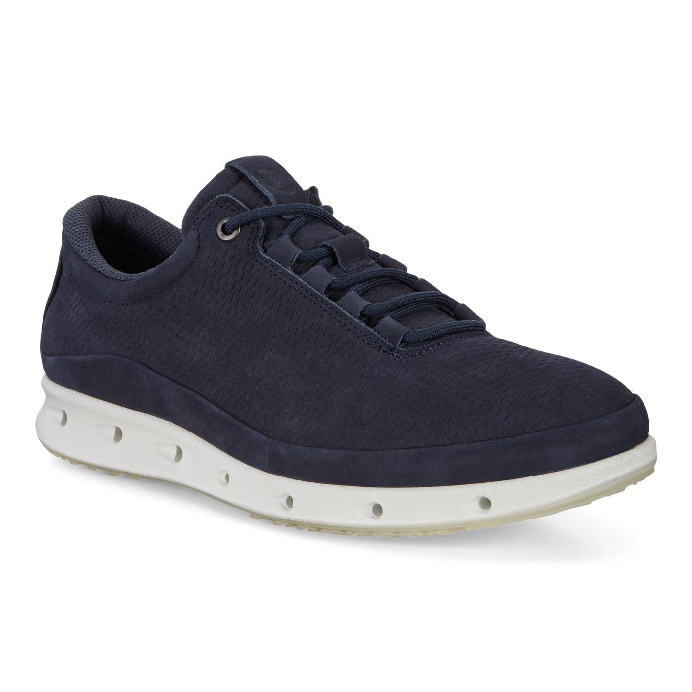 ECCO COOL Mens Embossed Leather Sneaker GTX