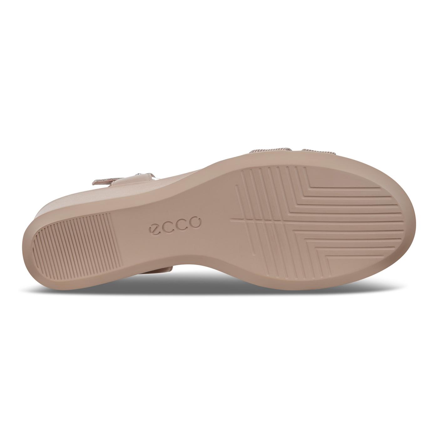 ECCO SHAPE WEDGE SANDAL T-Strap 35mm