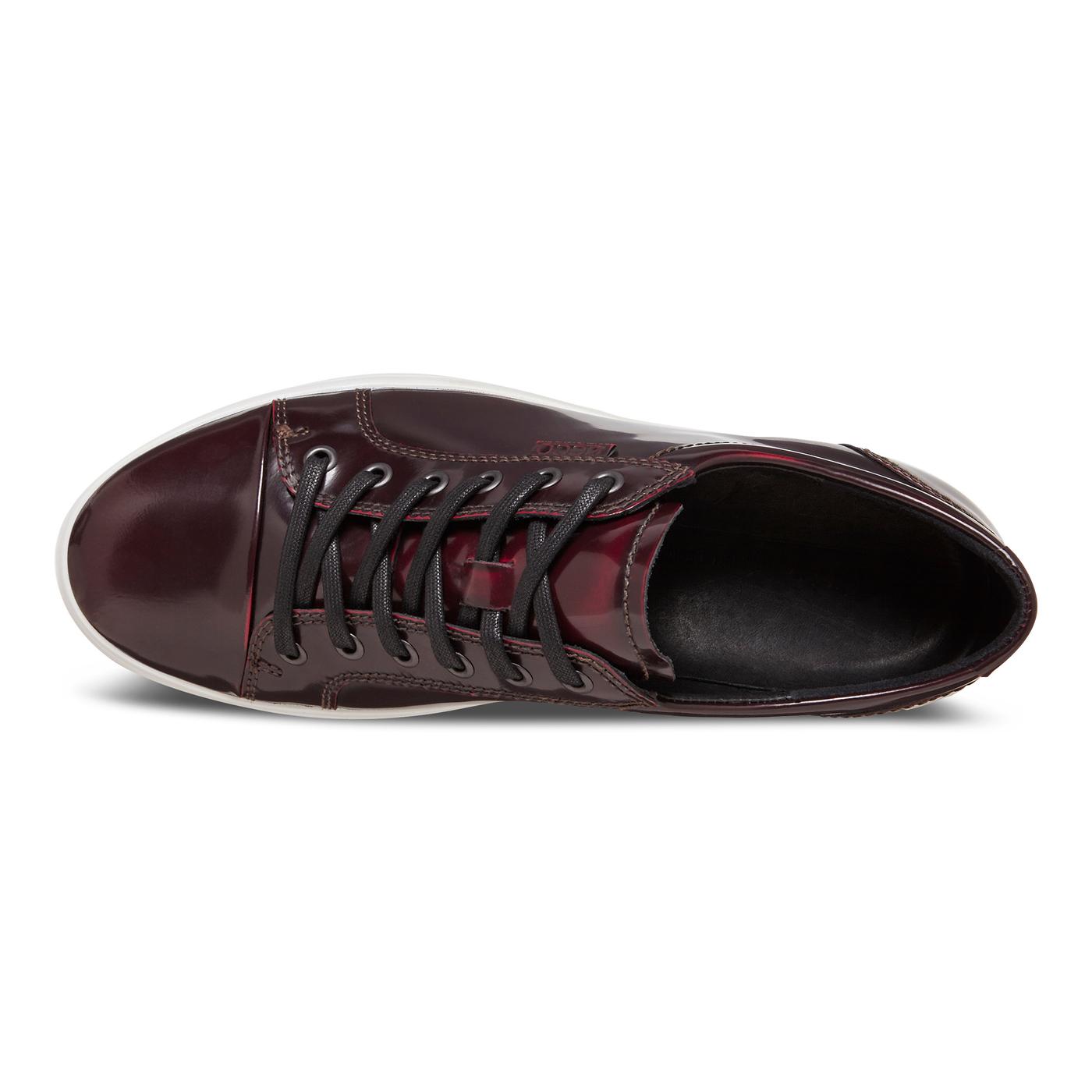 ECCO SOFT7 Mens Luxe Tie Sneaker