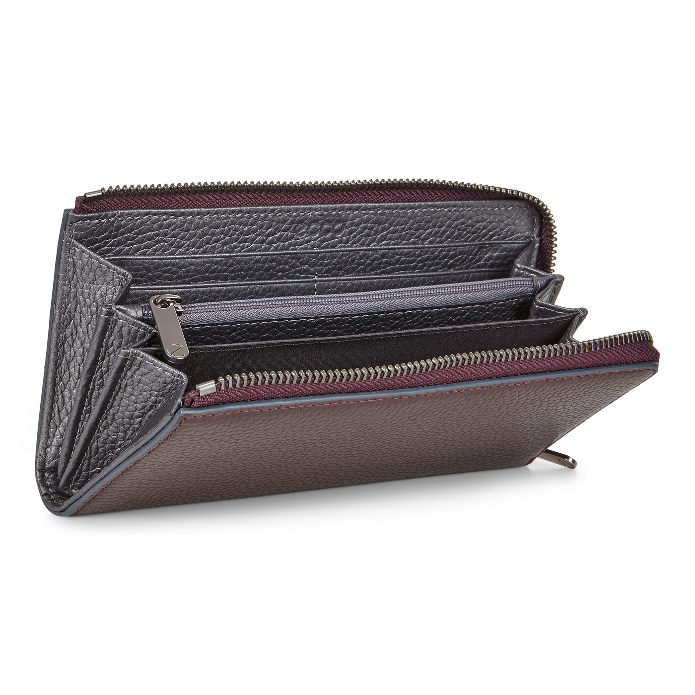 ECCO SP3 Metallic Zip Around Wallet