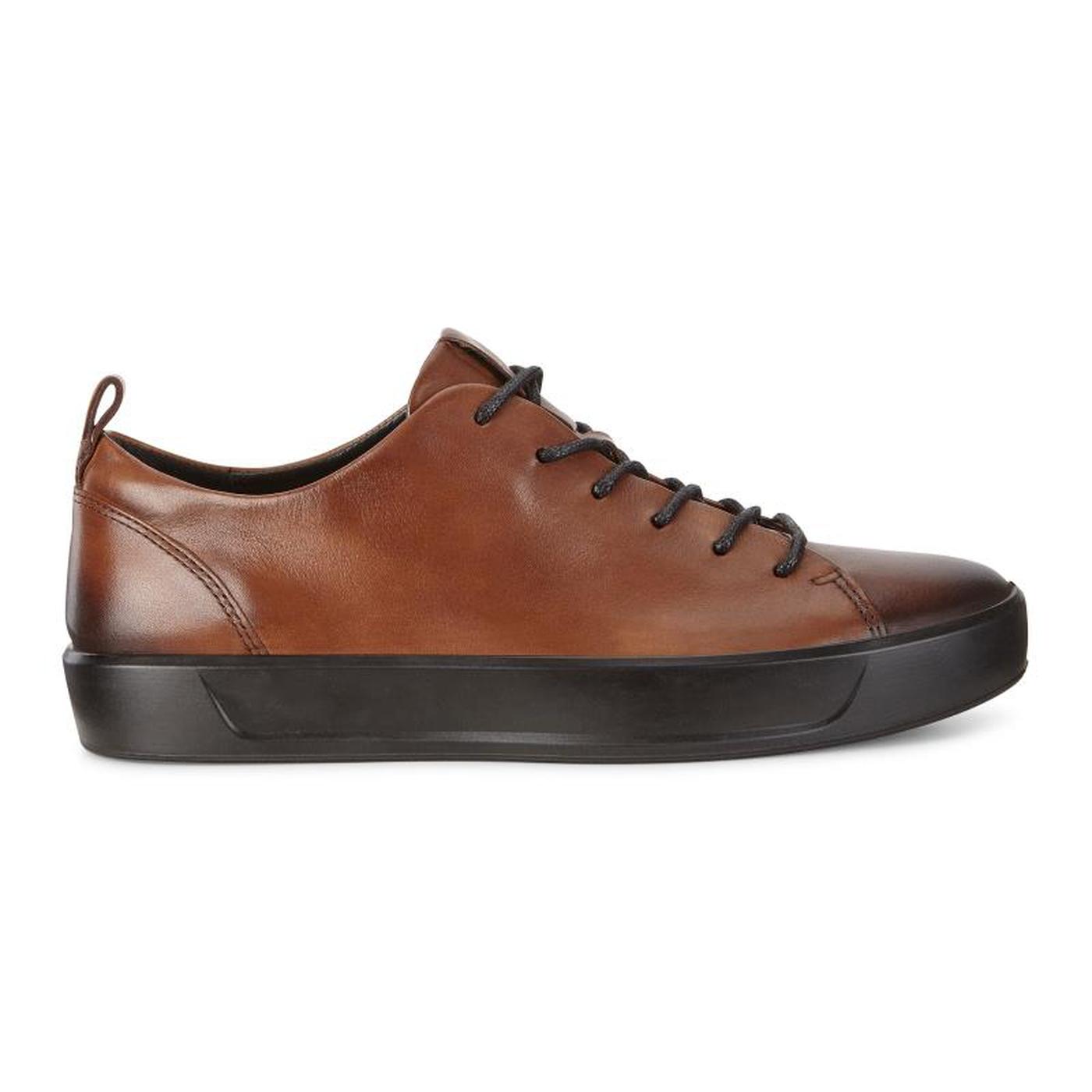 ECCO SOFT8 Mens Calf Leather Sneaker