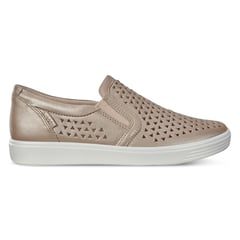 ECCO SOFT7 Womens Woven Leather II Slip-On