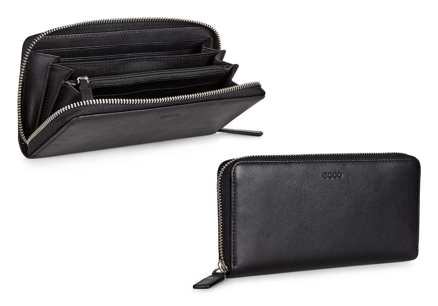 ECCO Hickson Large Zip Wallet