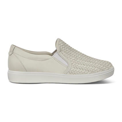 ECCO SOFT7 Womens Woven Slip-On III