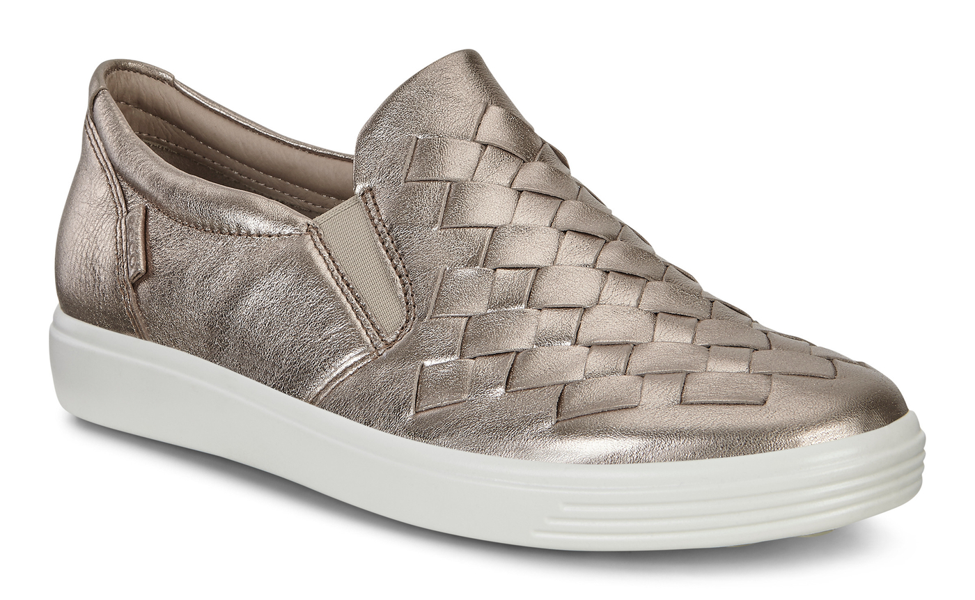 ECCO SOFT7 Womens Woven Slip On