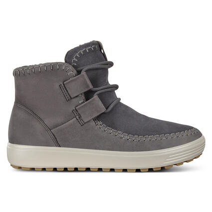 ECCO SOFT7 TRED Womens Sneaker High Cut Wool Lining