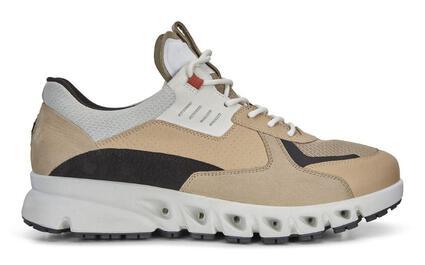 ECCO MULTI-VENT Mens Multicolor Leather Sneaker