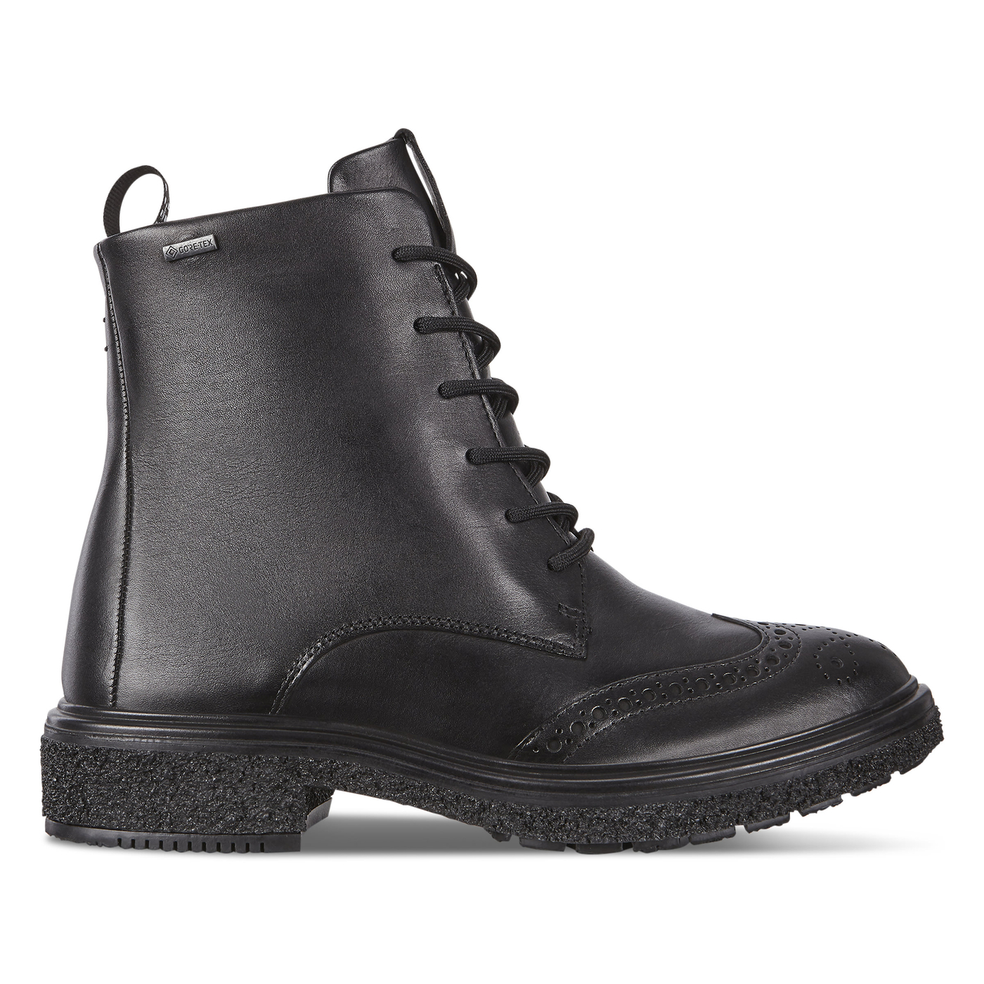ECCO CREPETRAY HYBRID Womens Lace Up Boots GTX