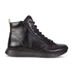 ECCO ST1 Mens High Cut Luxuary Sneaker Lace with Zip