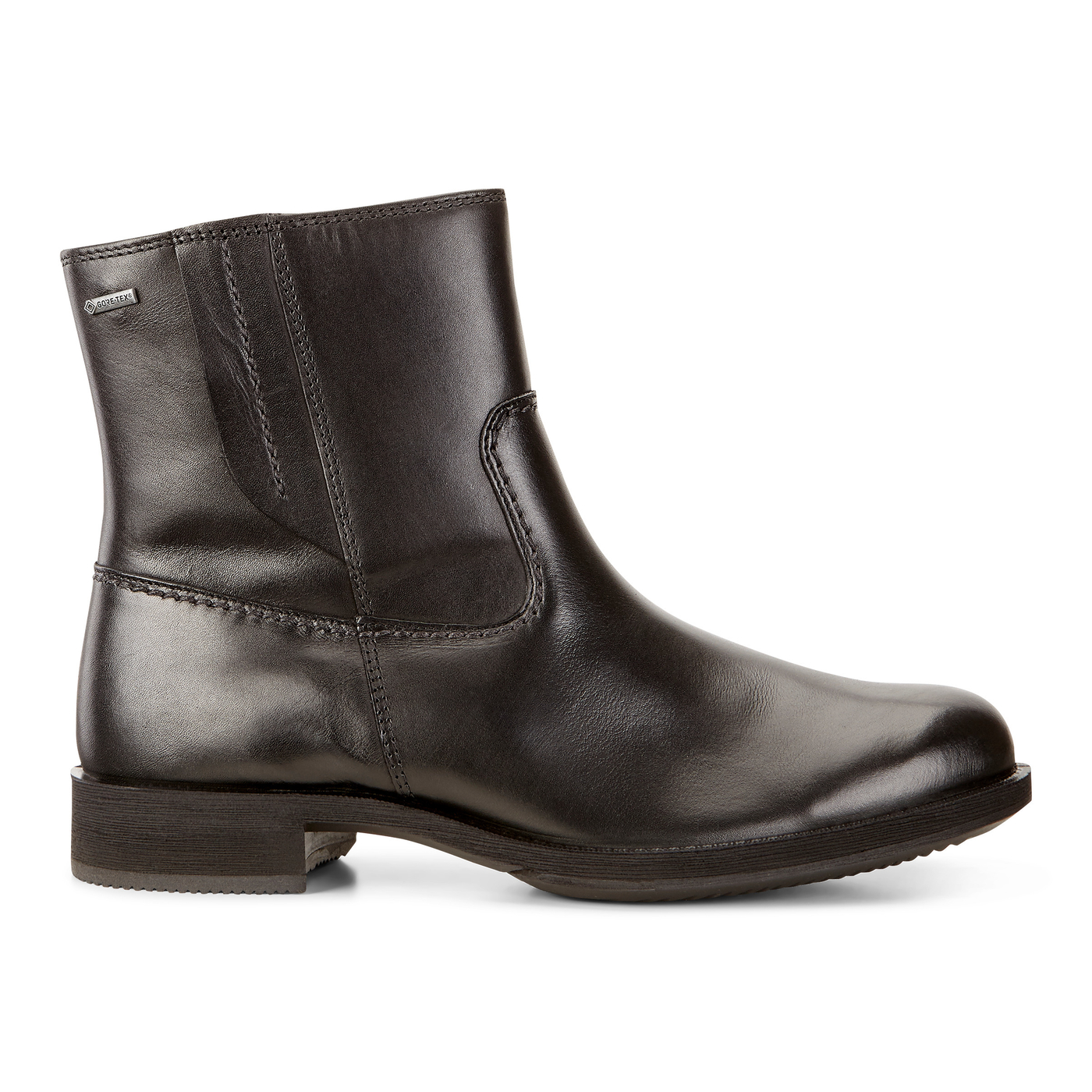 ECCO SAUNTER Leather Boot GTX