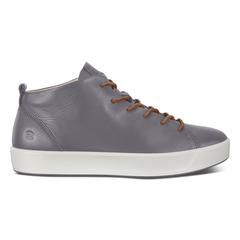 ECCO SOFT8 Mens DriTan Mid Cut Sneaker Tie