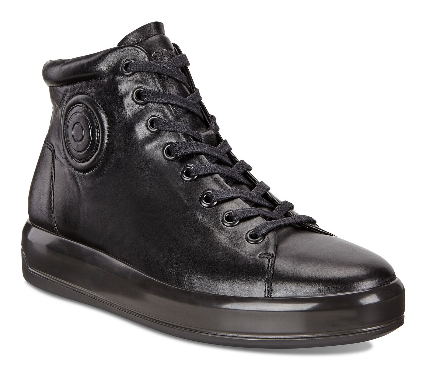 ECCO SOFT9 Patent High Top