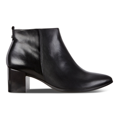 ECCO SHAPE POINTY BLOCK Side Zip Boot 45mm