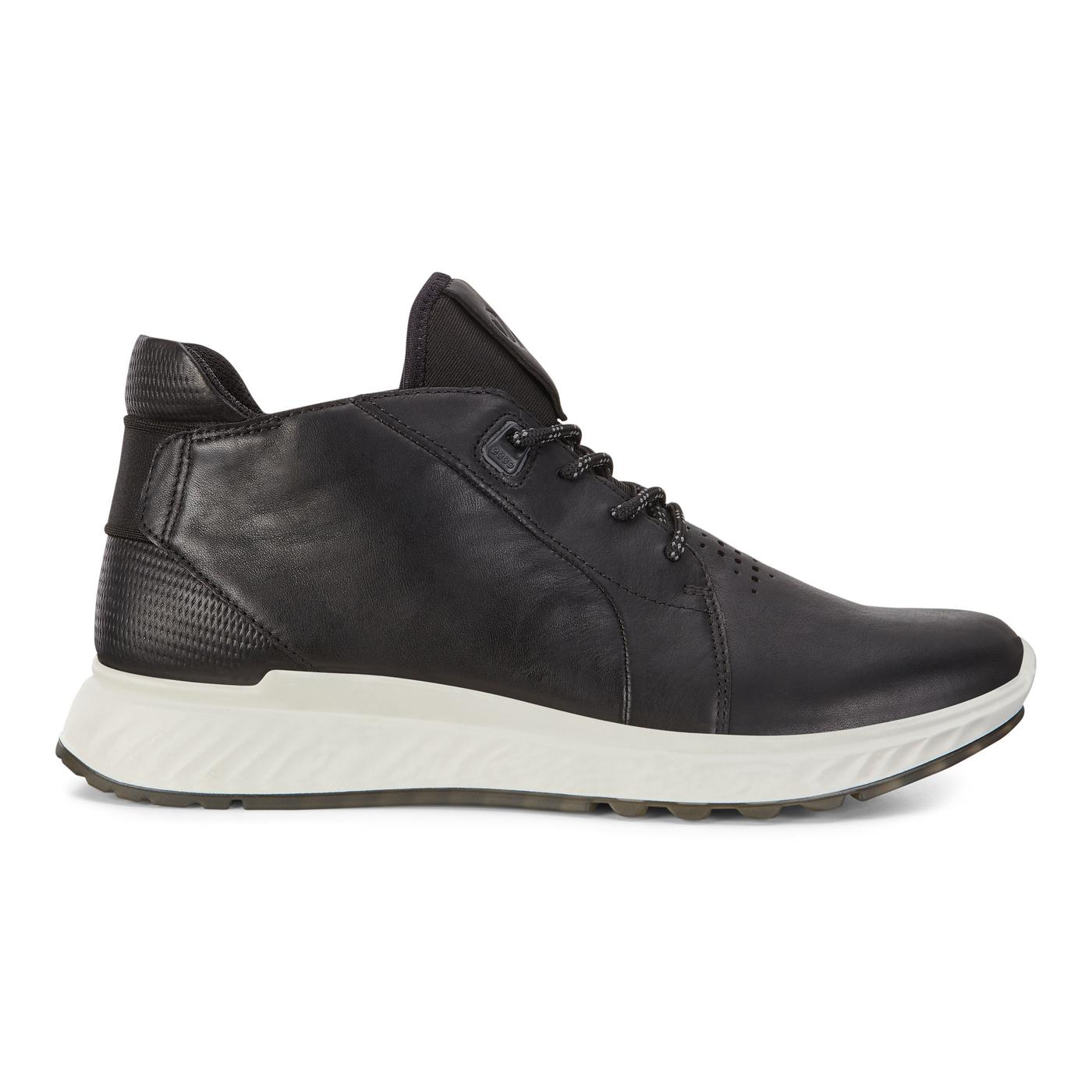 ECCO ST.1 Mens Mid Cut Sneaker Tie