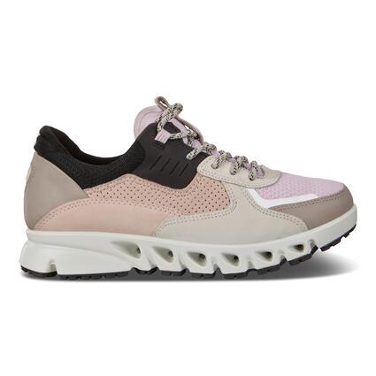 ECCO MULTI-VENT Womens Multicolor Leather Sneaker